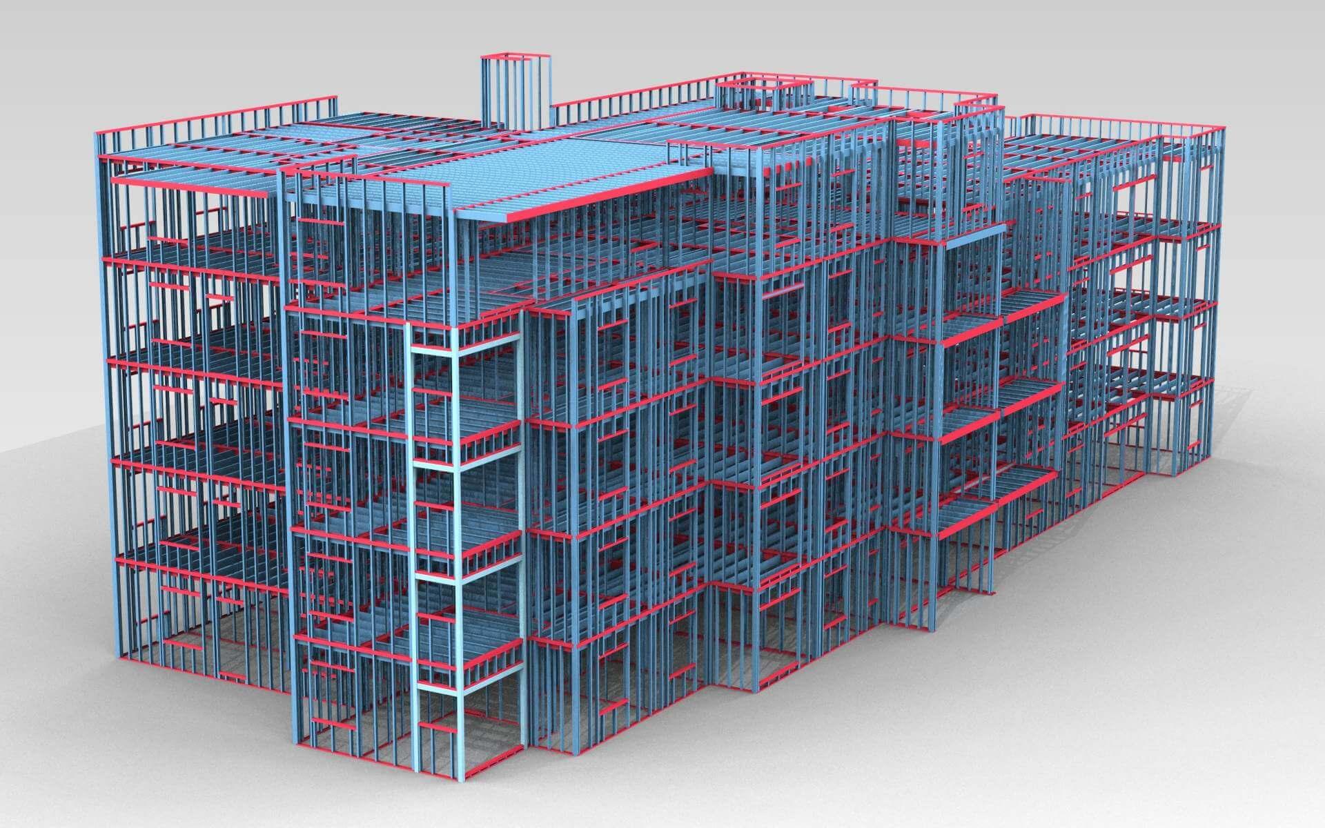 ویژگی نرم افزار FRAMECAD در طراحی سازههای LSF
