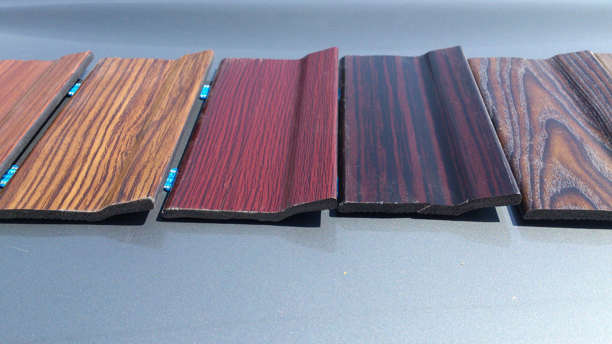 انواع رنگ قرنیز چوبی استوارسازان