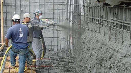 پاشیدن بتن شاتکریت در تری دی پنل استوارسازان