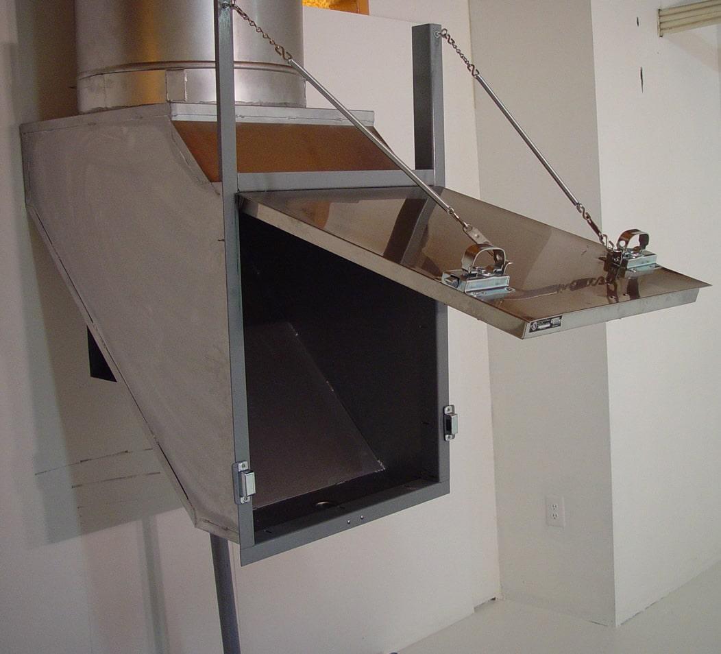 ساخت و تولید شوتینگ زباله - استوارسازان