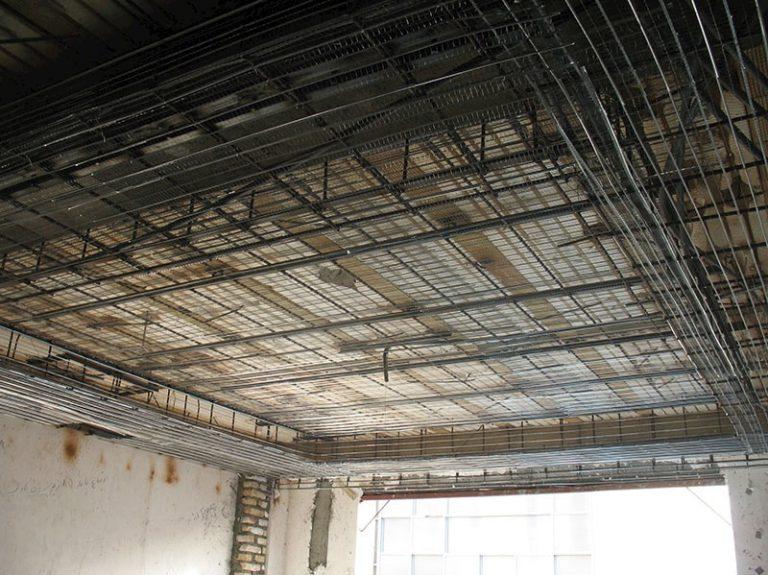 سقف کاذب رابیتس چیست استوارسازان