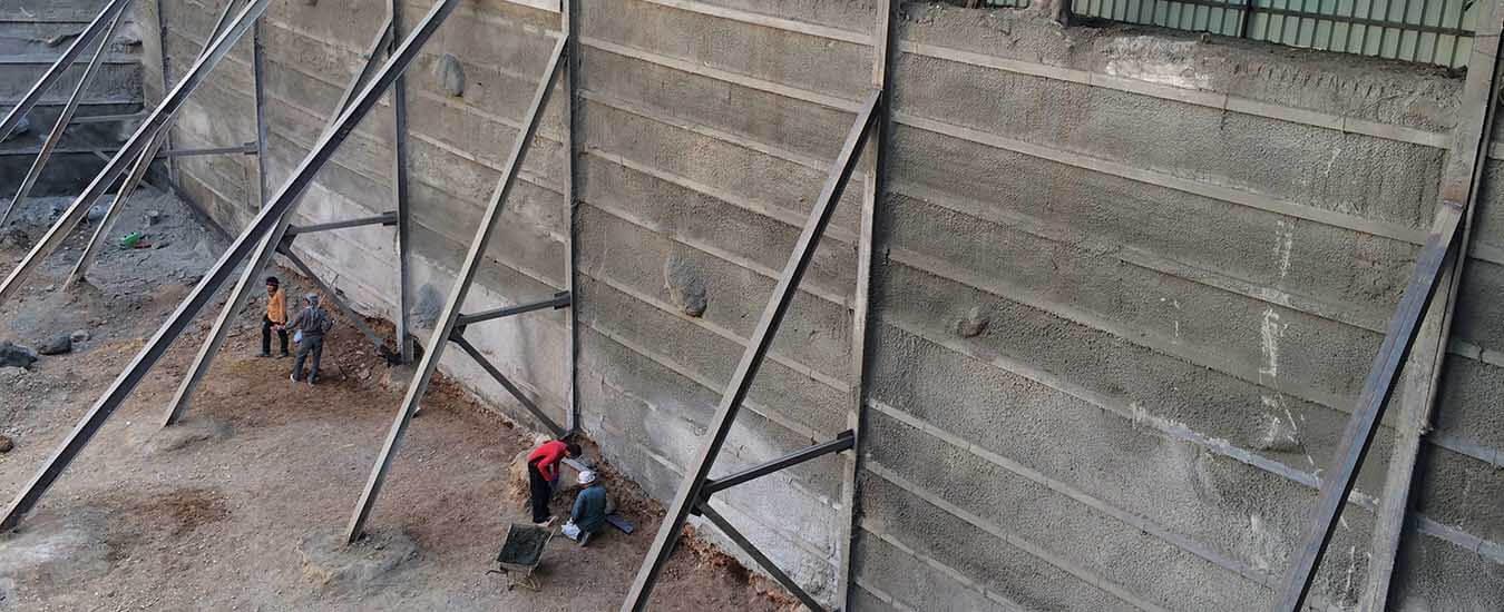 مزایا و معایب سازه نگهبان روش خرپایی - استوارسازان