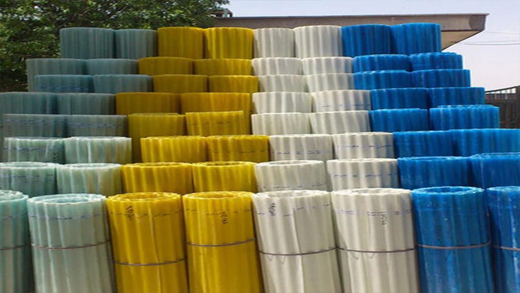 رنگ بندی ایرانیت فایبر گلاس - استوارسازان