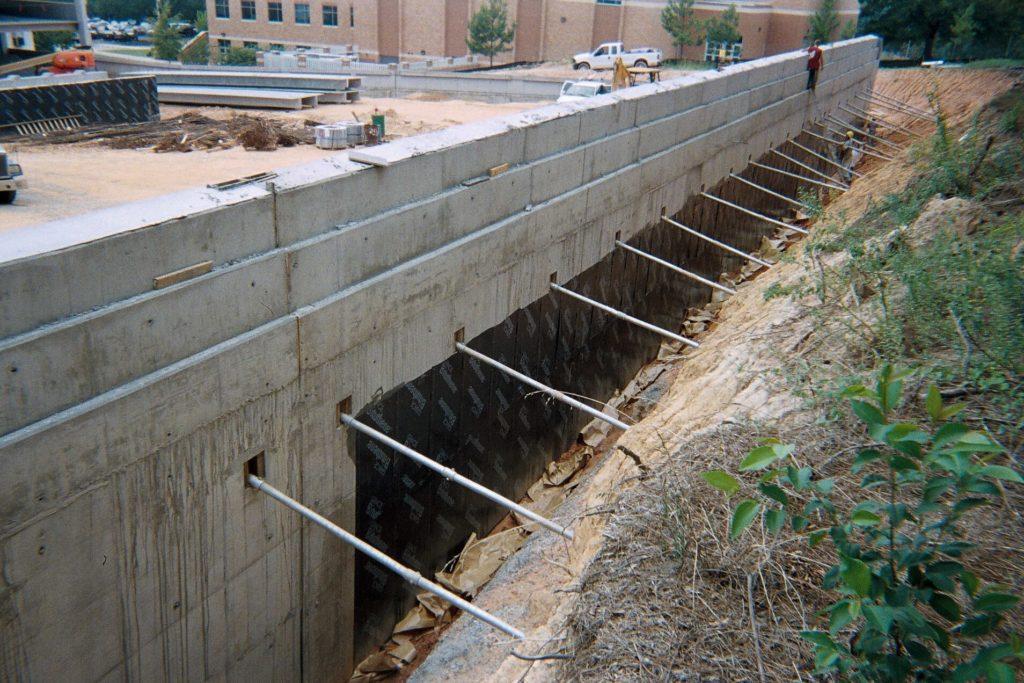 سازه نگهبان نیلینگ یا انکراژ - استوارسازان