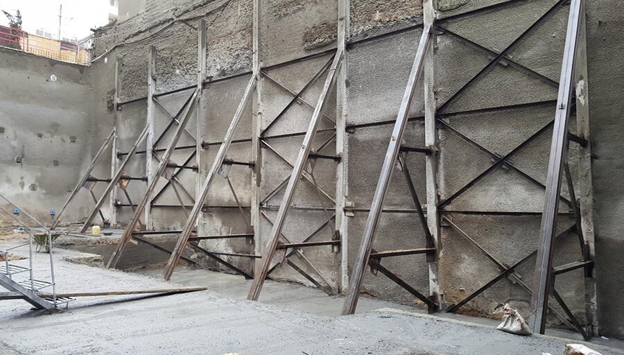 کاربرد سازه نگهبان خرپا - استوارسازان