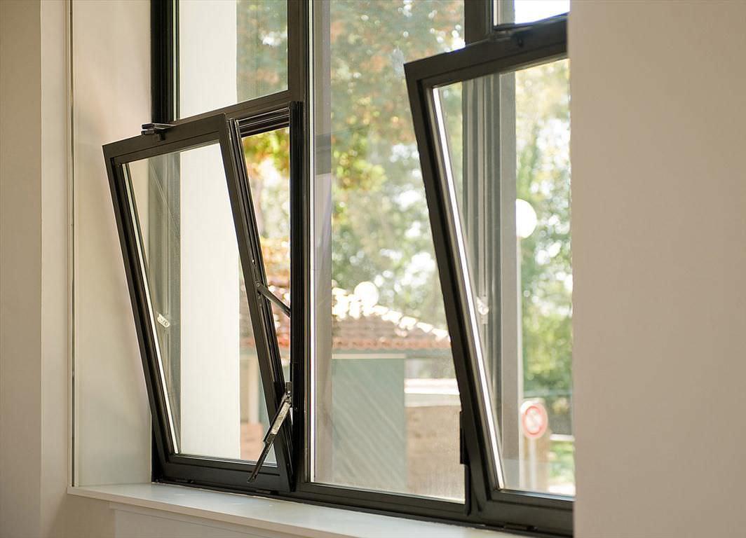 انواع بازشوهای پنجره آلومینیومی استوارسازان