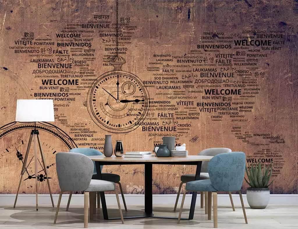 تفاوت پوستر دیواری با کاغذ دیواری استوارسازان