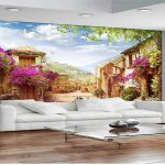 پوستر دیواری بهتر است یا کاغذ دیواری؟