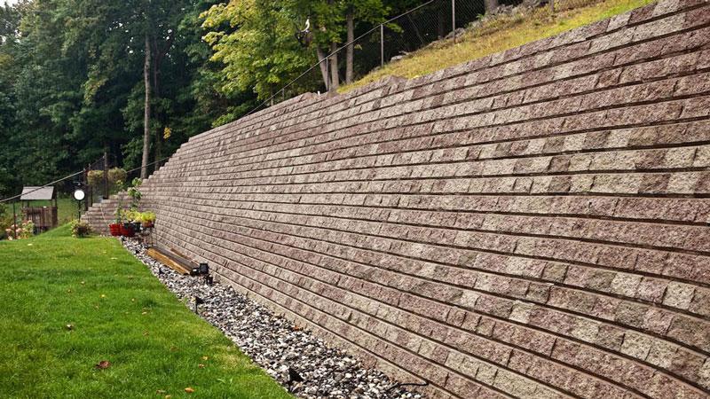 دیوار حائل وزنی - استوارسازان