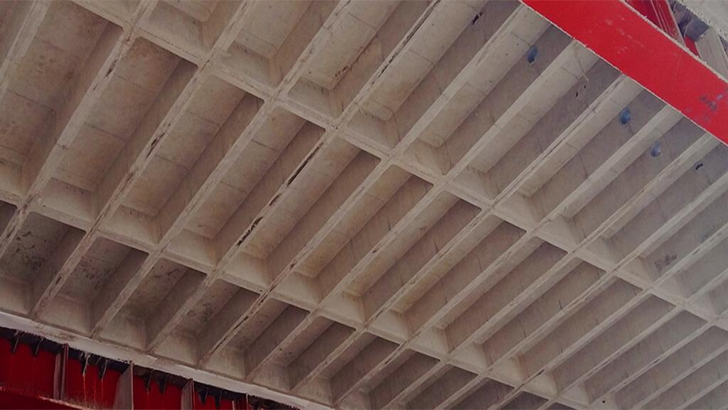 نمای زیر سقف مهانیت پس از اجرا - استوارسازان
