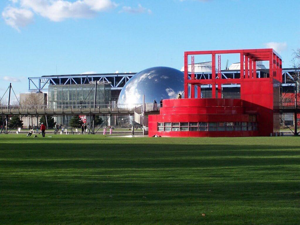 طراحی پارک د لاویلت اثر برنارد چومی - استوارسازان