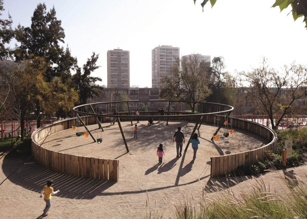 طراحی پارک در سانتیاگو شیلی از الخاندرو اروانا - استوارسازان
