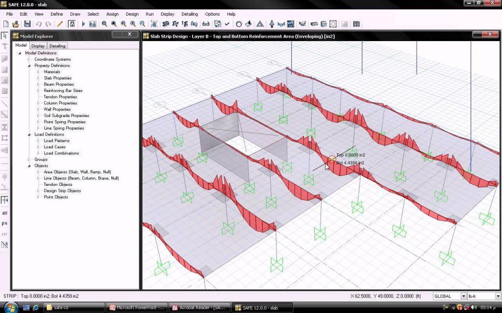 طراحی پی و دال با نرم افزار سیف - استوارسازان