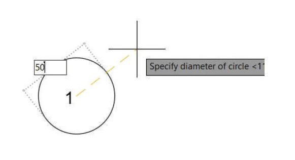 آموزش دستور Circle به روش اول برای ترسیم دایره - استوارسازان