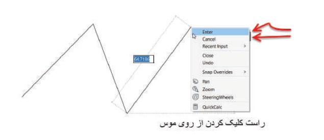 لغو کردن دستور line - آموزش دستور line - استوارسازان
