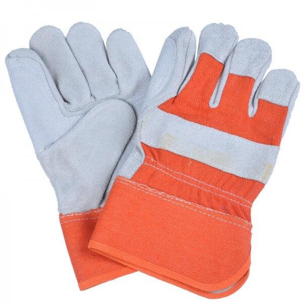 دستکش کار برای ایمنی در کارگاه ساختمانی