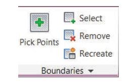 پانل Boundaries اضافه کردن هاشور به اتوکد استوارسازان