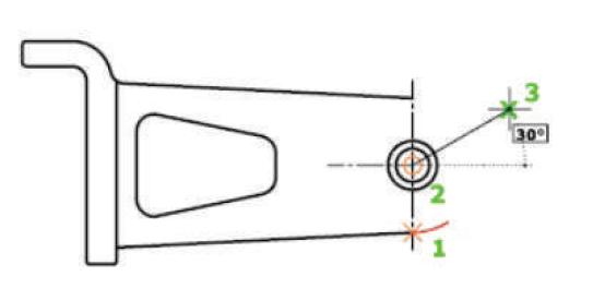روش سوم برای ترسیم دستور Arc استوارسازان