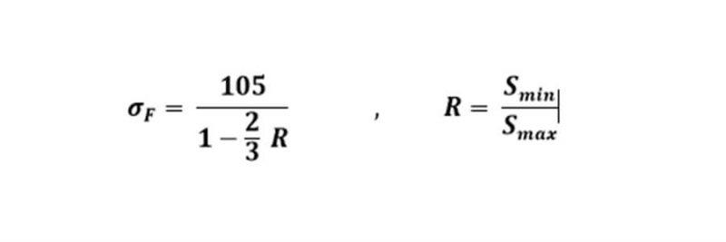 تنش حد مجاز خستگی براساس ایین نامه ASTm - خستگی در اتصالات جوش - استوارسازان