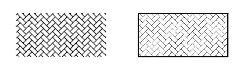 پانل recreate در اضافه کردن هاشور به اتوکد استوارسازان