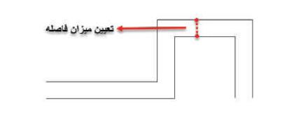 تغییر فاصله بین خطوط با دستور mline استوارسازان
