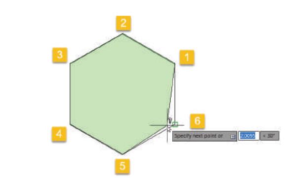 محاسبه مساحت در اتوکد با area