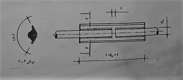 اتصال دو میلگرد با وصلهی جانبی - وصله آرماتورها - استوارسازان