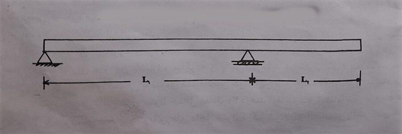 نمای یک تیر کنسولی – طراحی تیر بتن آرمه - استوارسازان