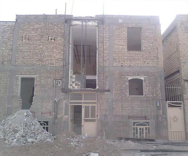 ساختمان غیرمسلح سنگی - انواع ساختمان های آجری - استوارسازان
