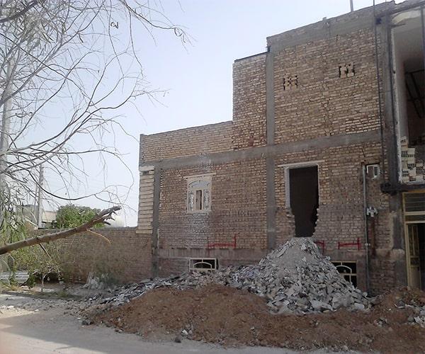 ساختمان بنایی محصور شده با کلاف - انواع ساختمان های بنایی - استوارسازان