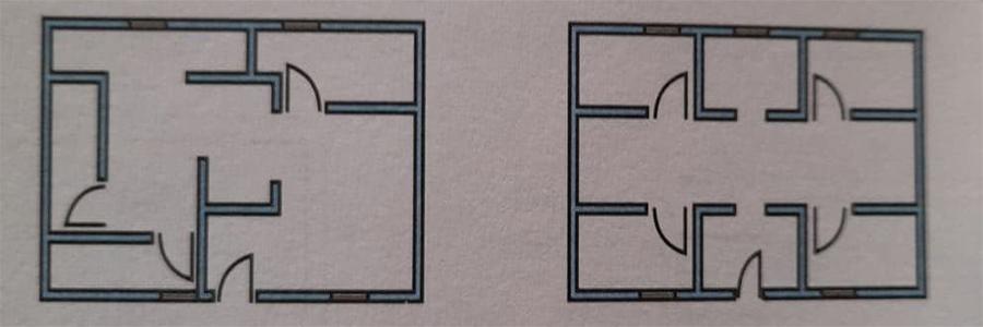 قرنیه بودن در پلان - طراحی معماری ساختمانهای بنایی - استوارسازان