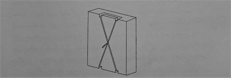 استفاده از مفتول در پشت سنگ - نصب و اجرای سنگ نمای ساختمان - استوارسازان