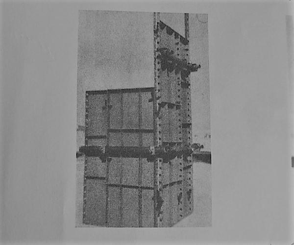 اتصال دو بدنهی قالب عمود برهم - انواع قالب بندی بتن - استوارسازان