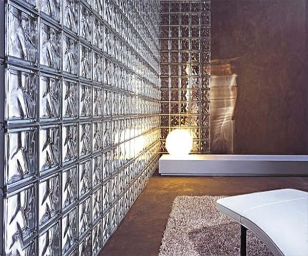 استفاده از بلوک شیشه ای از انواع شیشه ساختمانی