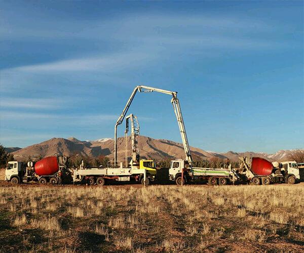 ماشین پمپ بتن - روش های حمل بتن - استوارسازان