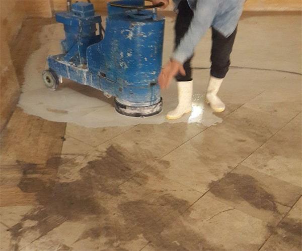 تمیز کردن سنگ نما با بخار سنگ آهکی - تمیز کردن سنگ نما - استوارسازان