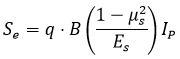 نشست الاستیک - فرمول های درس مکانیک خاک - استوارسازان