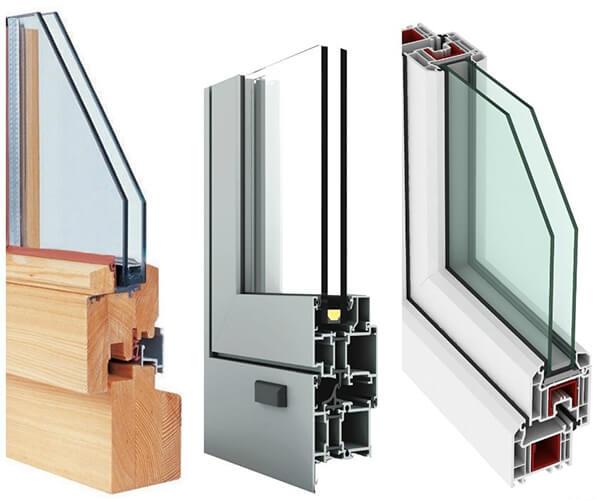 نمونه مناسب پنجره یو پی وی سی با شیشه دو جداره - عایق حرارتی ساختمان - استوارسازان