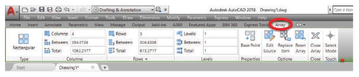 ارکان اجرای دستور array استوارسازان