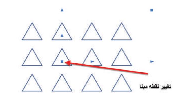 تغییر نقطه مبنا در دستور array استوارسازان