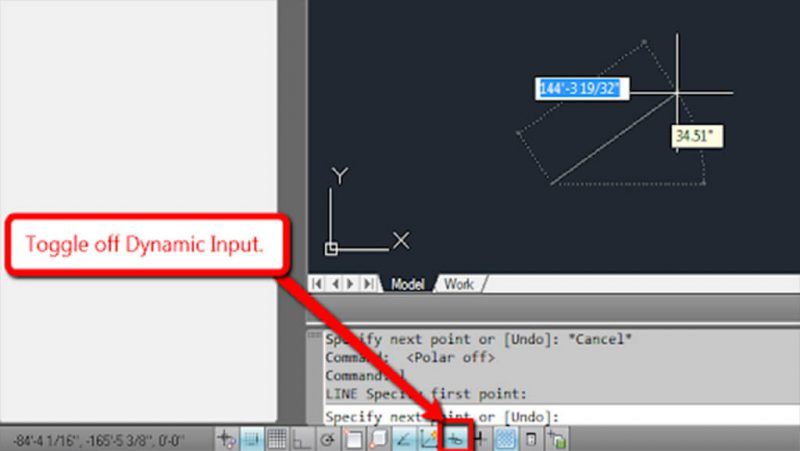 آموزش دستور Dynamic input استوارسازان