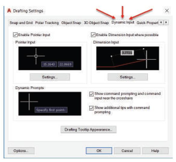 نکات مهم دستور Dynamic input استوارسازان