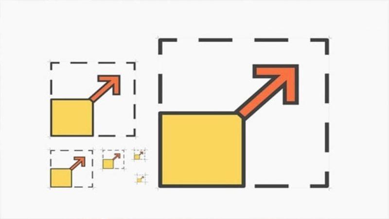 آموزش دستور Scale استوارسازان
