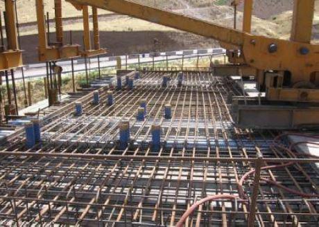 پل صندوقهای به وسیله دستگاه شاریو - سقف پس کشیده - استوارسازان
