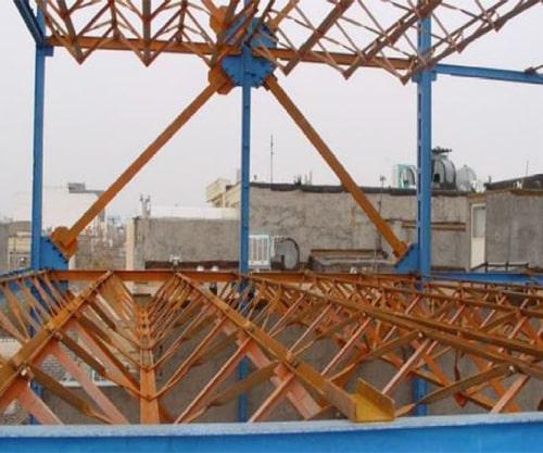 تصویر سقف کلالیت - استوارسازان