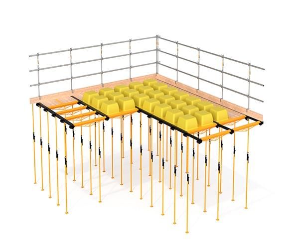 کاربرد سقف ایزی اسلب (EASY SLAB) - استوارسازان