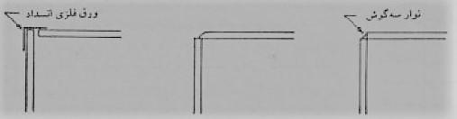 جزئیات قالب بندی در محل تقاطع تیر و دال - سقف سالید اسلب - استوارسازان