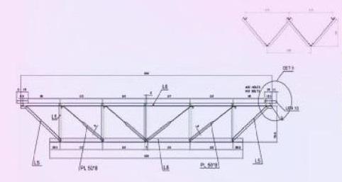 هندسه طرح مقطع و برش در سقف کلالیت - استوارسازان