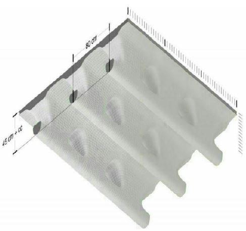 سقف هالودک - استوارسازان