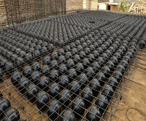 باز کردن قالب سقف بابل دک (BubbleDeck) - استوارسازان